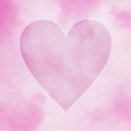 freetoedit pinkheart heart pink background