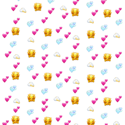 cute soft heartbackground freetoedit