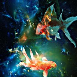 freetoedit lydiacline remixit cool vibrantcolors srcunderwater