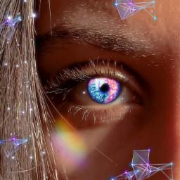 galaxymagiceffect galaxyhair rainbow picsart freetoedit