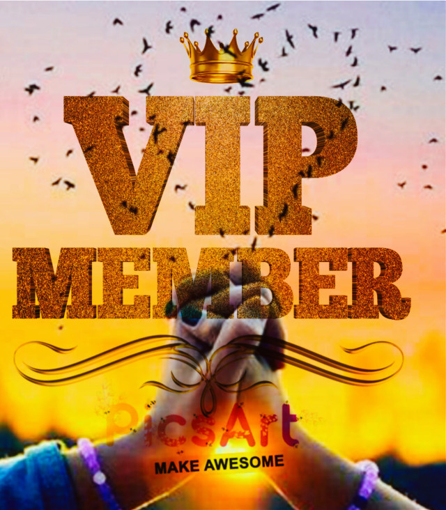 My dear Friends and Supporters ,My followers  thank you very much to all of you 💖without your love and support I'm not in VIP member 😊🌹Cheers for all the new VIP  members🍻🎶⛥Keep Creating ,Editing and Supporting 💖😉🙆  #freetoedit