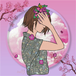 freetoedit pink drawing colors colorfull ircpicsartgirl