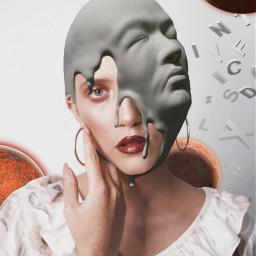 freetoedit face space girl saturn
