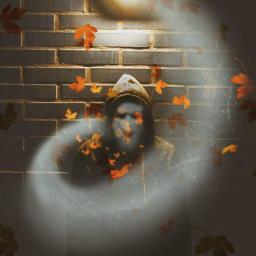freetoedit ghost spirit spooky october srcautumncolors