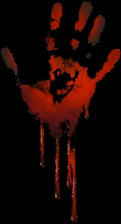 ftestickers halloween blood bloody handprint freetoedit