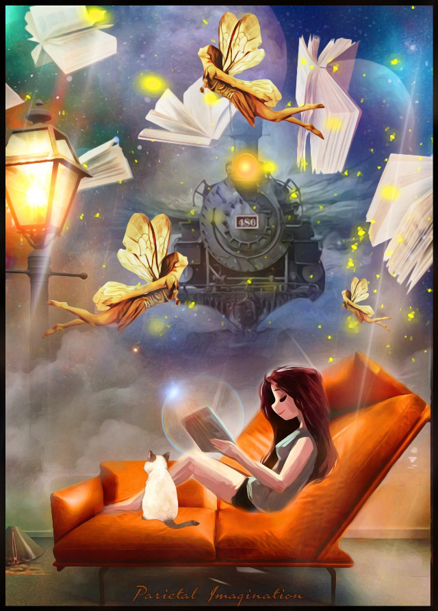 🏆🏆SECOND PLACE SOFA CHALLENGE🏆🏆VOTING LINK: https://picsart.com/i/307930418031201?challenge_id=5d9736d8acfe1d50200f3d58 Edit by: Parietal Imagination Art @pa #couch #dreams #reading #book #surrealism #train #clouds #fireflies #fairies #magical #magic #fx #magicfx #adjust #blur #vip #madewithpicsart #parietalimagination  #freetoedit #ircsofafortwo 💗💗💗💗💗
