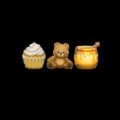 emoji emojis combination iphone teddybear freetoedit