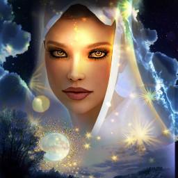 freetoedit stars light fantasyart fantasyworld ircshiningstars