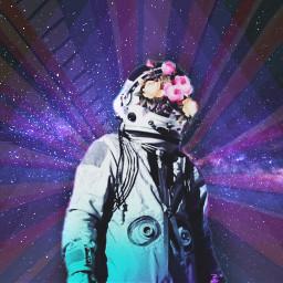 freetoedit galaxy astronaut ircshiningstars shiningstars