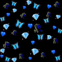 blue background sticker favouritecolour freetoedit