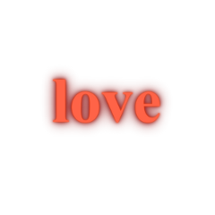 ftestickers text typography love luminous freetoedit