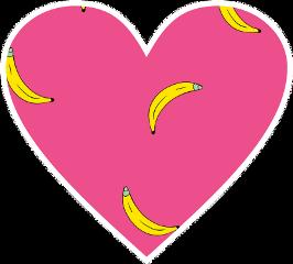 bananas sticer cute freetoedit