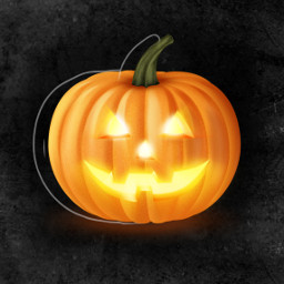 freetoedit pumpkin grunge background jackolantern