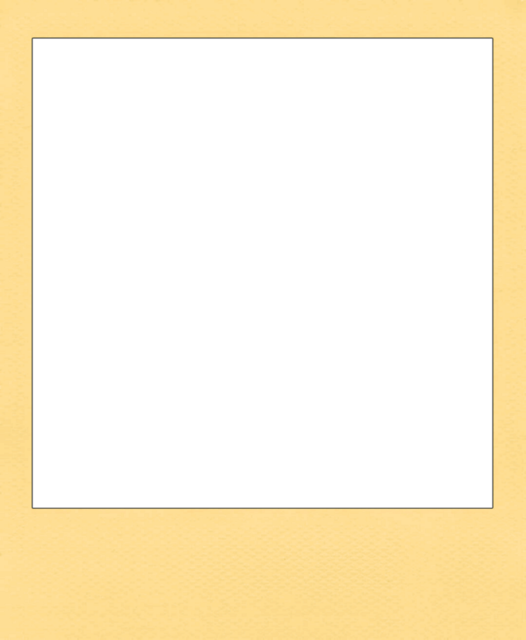 #freetoedit #polaroid #frame #vintage #retro #yellow
