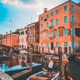 chioggia littlevenice people moments boats