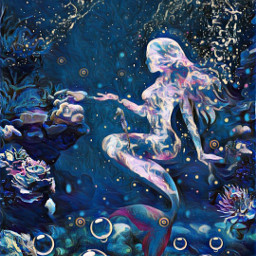freetoedit mermaid midnight underthesea