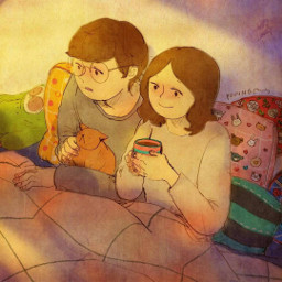 art puuung love couple koreanboy