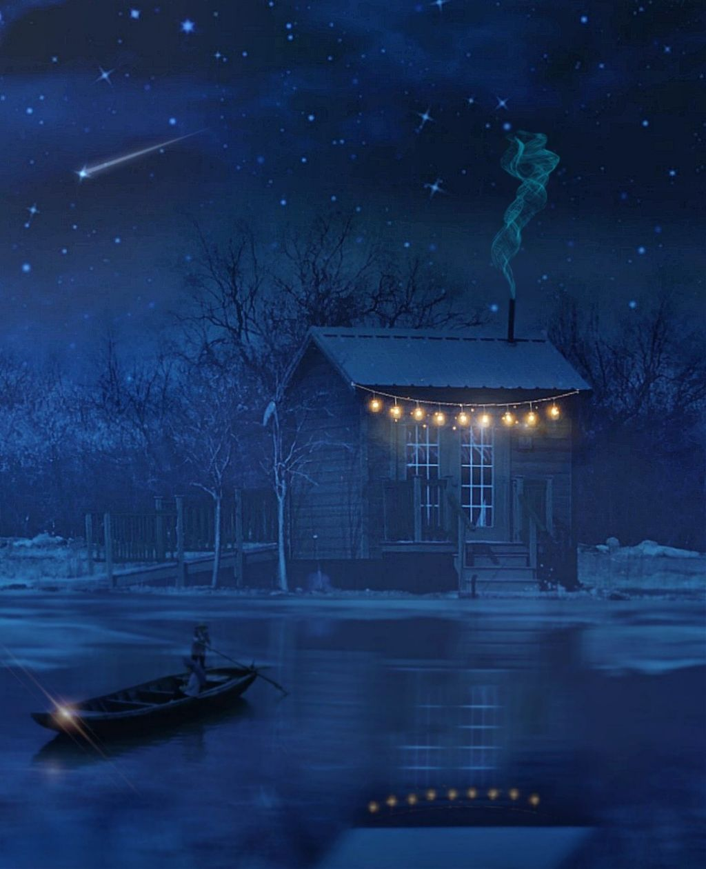 #freetoedit #irccabin #cabin #lake #nightsky #house #boat #reflections #stars #shootingstars #nightphotography #nightlife #nightlights #madewithpicsart #picsarteffects #myeditoffreetoedit #myedit #myremix