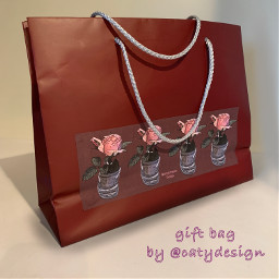 giftbag catydesign paperbag interesting design