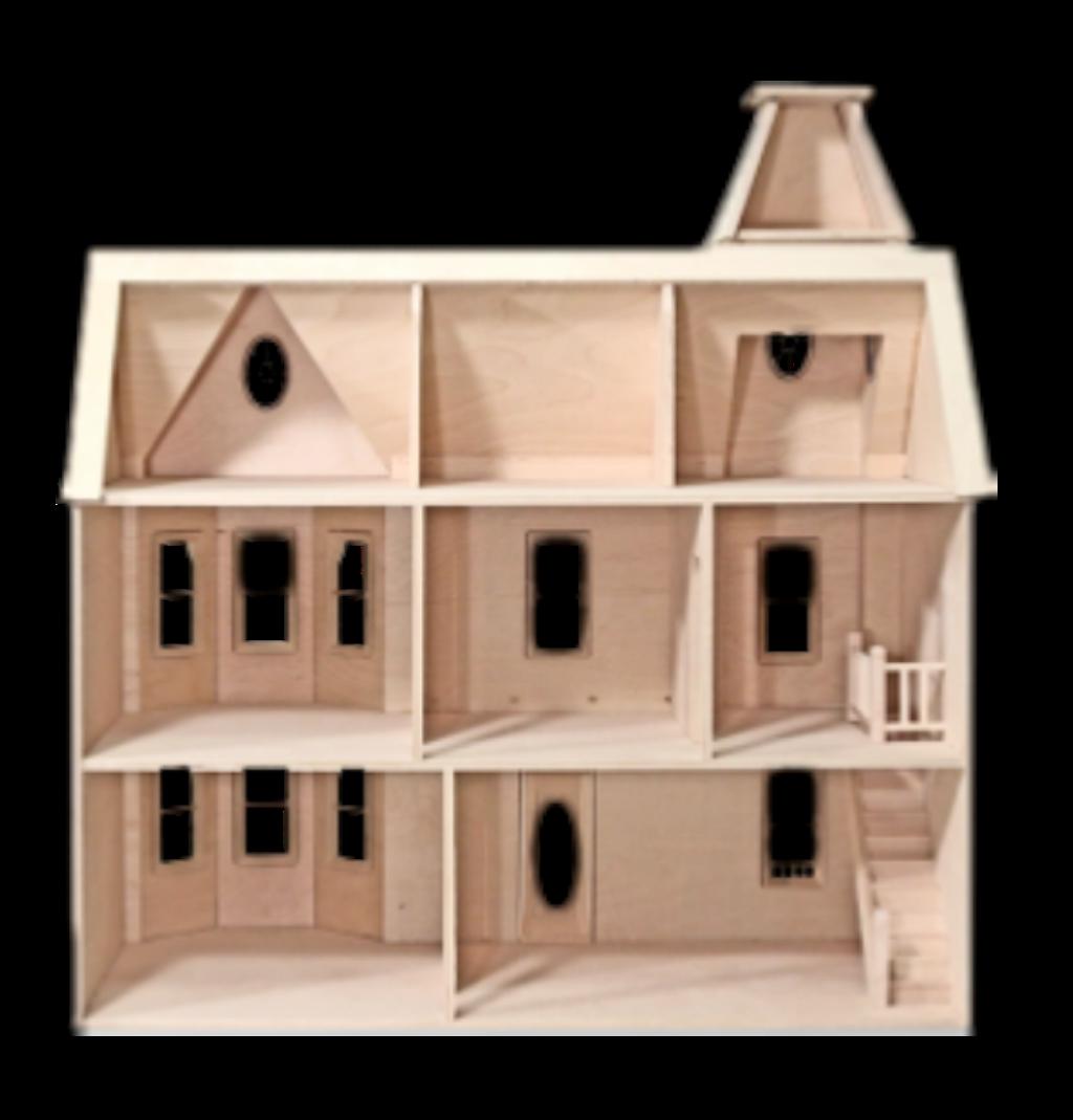 #dollhouse #wooden #empty