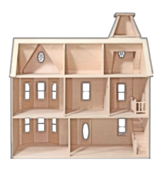 dollhouse wooden empty freetoedit