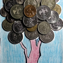 freetoedit tree money art