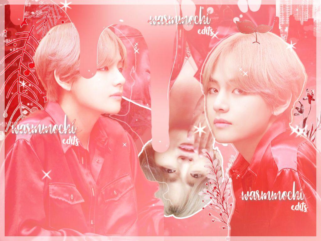 Hebd ❤️ @iridescentae eek! Its tomorrow!! 😱    3/17 edits  Credits to @_pochi_universe (taehyung stickers)      #kpop #bts #btstaehyung #earlyhappybirthdaycaroline