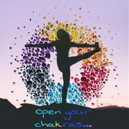 freetoedit yoga swarovskicrystals silhouette woman ecswarovskitodayiam