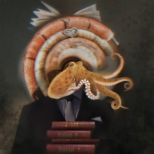 Avid Readers  #surreal #reading #octapus #books #vipshoutout #madewithpicsart An editing and photo  gallery to visit is this week's Artist of the Week and current VIP Shout-out @wen-dawn   #freetoedit