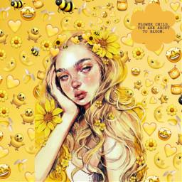 freetoedit yellowgirl girly_m girl ircsimplyyellow