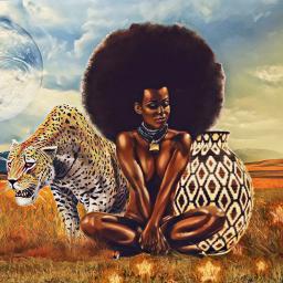 freetoedit africa tumblr negra paradise