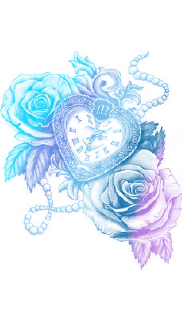 #picsartcolourapp #rose #heartclock