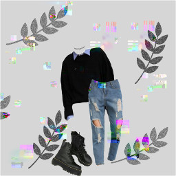 docmartens outfit outfitideas autumn freetoedit