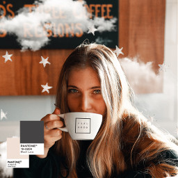 cloud clouds coffee pantone feelgood freetoedit