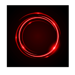 abstract circle red portal neon ftestickers freetoedit