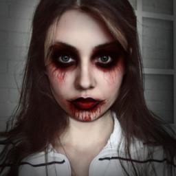 freetoedit makeuphalloween spooky edit edits