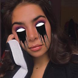 freetoedit drip creepy eye tumblr