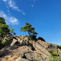 sky photography nature rocks