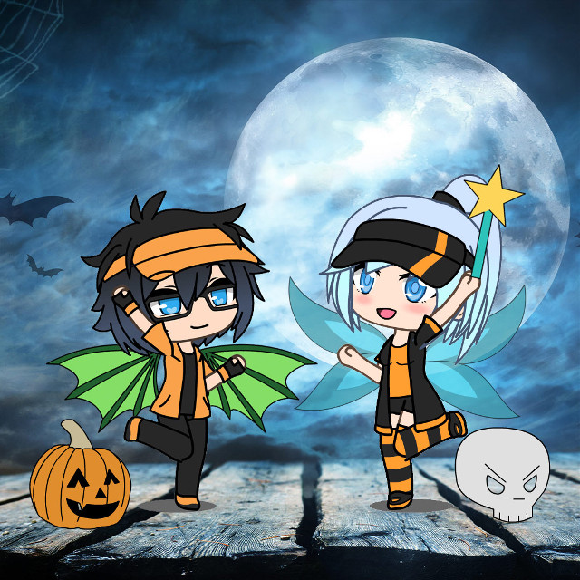Is your Gacha Life OC ready for Halloween? 🎃 Enter our Gacha Life Halloween OC Challenge and deck them out for a chance to win a Blue Luni Visor signed by Luni and one year free of PicsArt Gold ✨ #GachaLife #GachaHalloween #GachaLifeEdit #Freetoedit