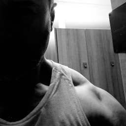 blackandwhite antiselfie me gym