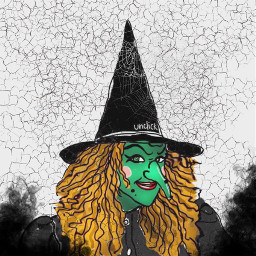 dcwitchy witchy halloween bruja halloweenart witches