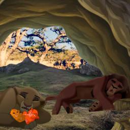 lionking kiara kovu freetoedit