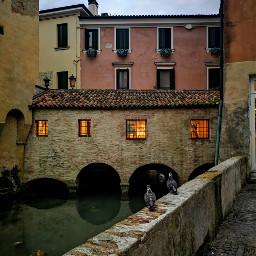 treviso italia canal reflectioninwater reflections