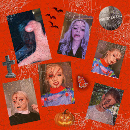 zoelaverne tombstone codyorlove halloween spiderwebs freetoedit