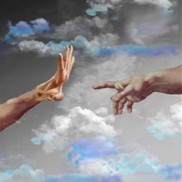 freetoedit art hands wallpaper poster