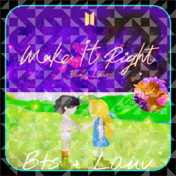 bts makeitright lauv music bangtanboys freetoedit