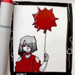kosetsart art traditional globophobia fear