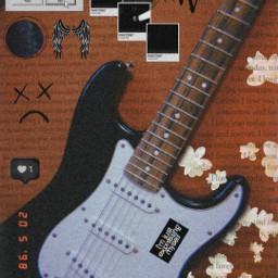 freetoedit e-guitar guitar guitarrist dark