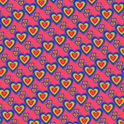 freetoedit sfghandmade pinkbackground hearts bluehearts