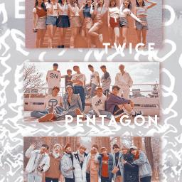 x1 twice pentagon straykids bts